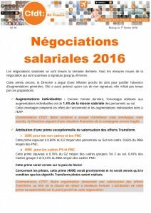 Tract 05 16 négociations salariales 2016