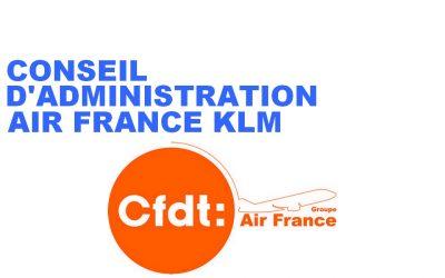 ELECTION AU CONSEIL D'ADMINISTRATION AIR FRANCE KLM