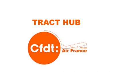 Pour 2018 la CFDT du Hub rencontre la Direction