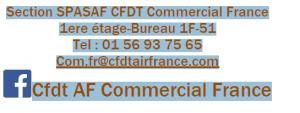Coordonnées Commercial France