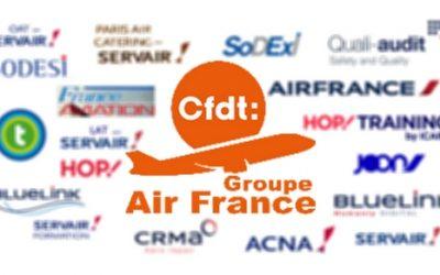 Elections au Conseil d'Administration  du Groupe Air France