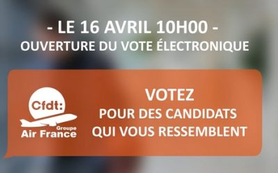 ELECTIONS CA – RECEPTION DE VOS CODES!