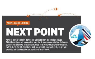 NOUVEL ACCORD SALARIAL – NEXT POINT