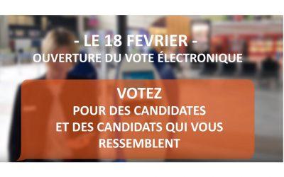 ELECTIONS CSE : RECEPTION DE VOS CODES