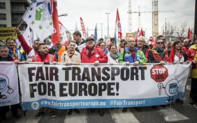 La Fédération du Transport Européen – ETF contre le dumping social #Fairtransport