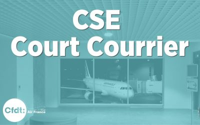 SESSION CSE COURT-COURRIER DU 16 OCTOBRE 2019