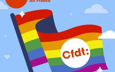 La Cfdt Air France, engagée contre toute forme de discrimination au travail !