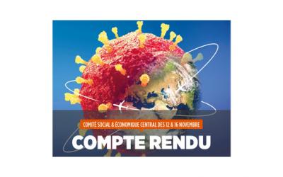 COMITÉ SOCIAL & ÉCONOMIQUE CENTRAL DES 12 & 16 NOVEMBRE