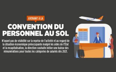 AVENANT A LA CONVENTION DU PERSONNEL AU SOL